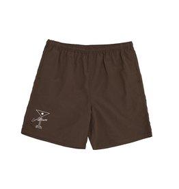 Alltimers League Player Nylon Shorts - Brown