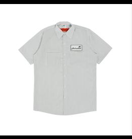 Mehrathon Work Less S/S Work - Shirt/Pinstripe