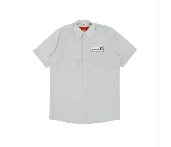 Work Less S/S Work - Shirt/Pinstripe