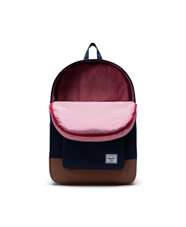 Heritage Backpack - Peacoat/Saddle Brown