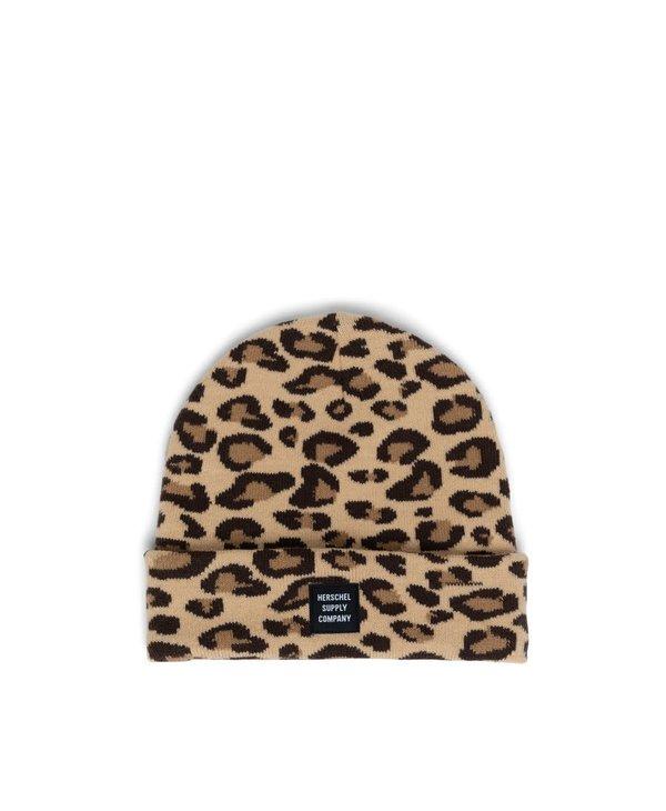 Abbott Beanie - Leopard Print