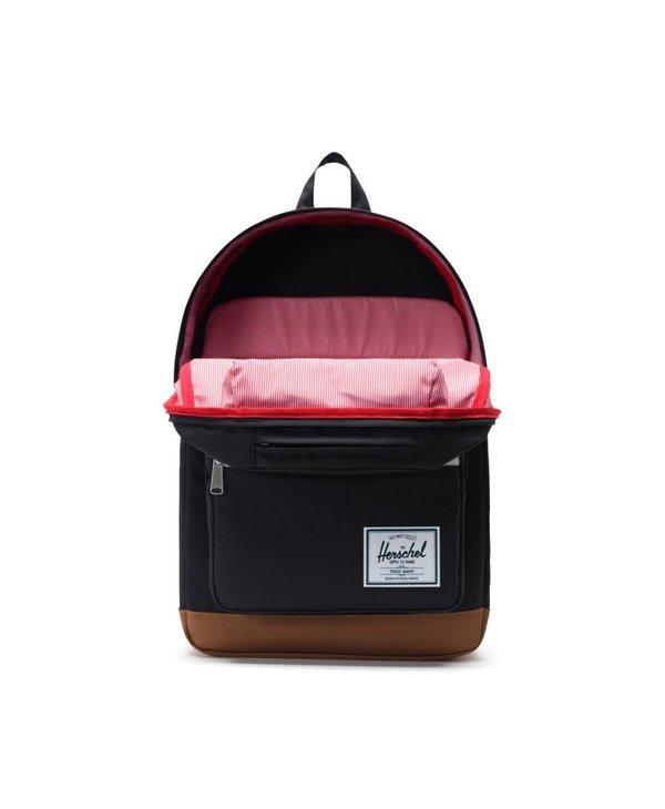 Pop Quiz Backpack - Black/Saddle Brown