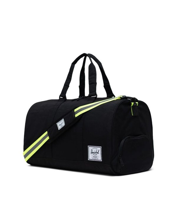 Novel Duffle - Black Enzyme Ripstop/Black/Safety Yellow