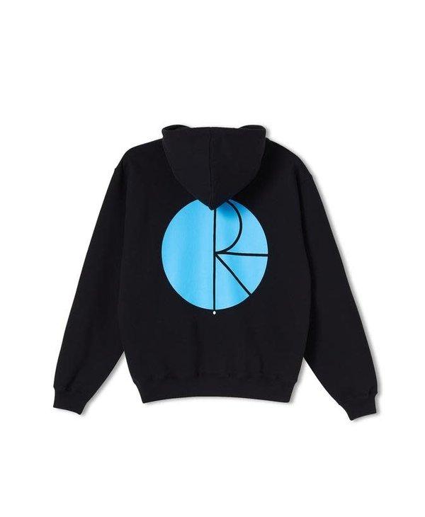 Fill Logo Hoodie - Black/Blue