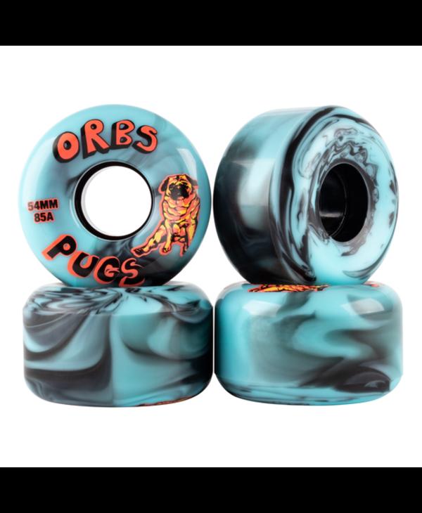 Wheels Pugs Black/Blue - 54mm
