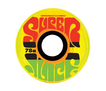 Mini Super Juice Wheels 78A 55mm - Jamaican Sunrise