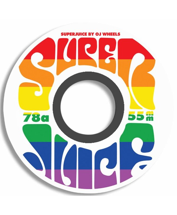 Mini Super Juice Wheels 78A 55mm - Rainbow