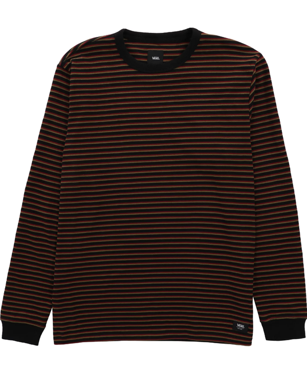 Awbrey II Longsleeve Shirt - Black/Pomegranate