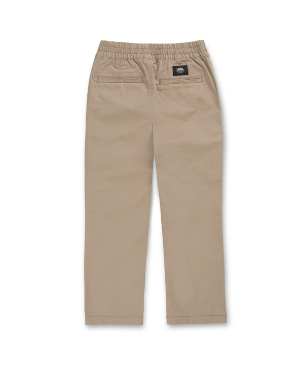Boys Range Relaxed Elastic Waist Pants - Khaki