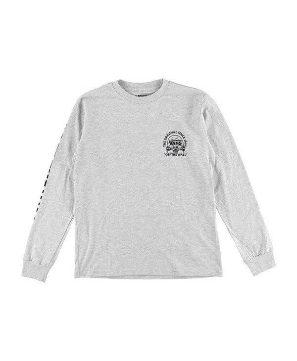 Boys Original Grind Long Sleeve Shirt - Athletic Heather