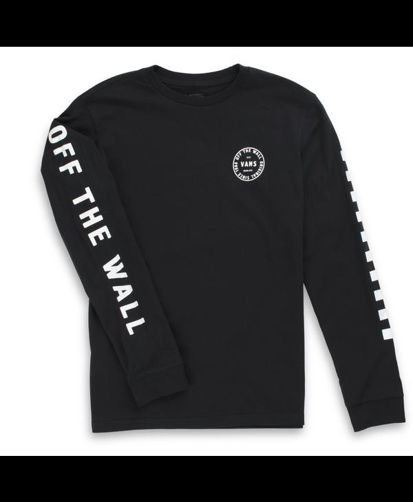 Boys Off The Wall Combo Long Sleeve Shirt - Black