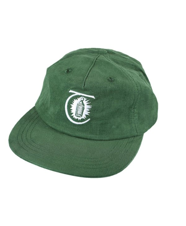 Lantern Thin Corduroy Cap - Dark Green