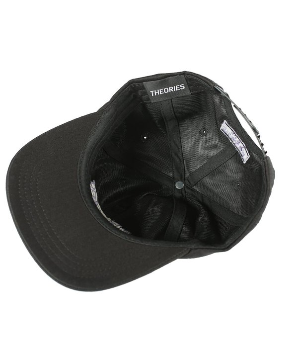 Secretum Herringbone Snapback - Black