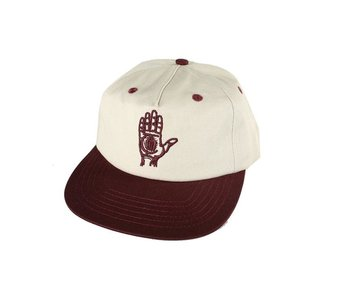 Hand Of Theories Strapback - Pearl/Sport Red