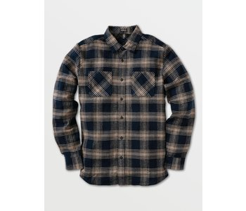 Tone Stone Long Sleeve Shirt - Indigo