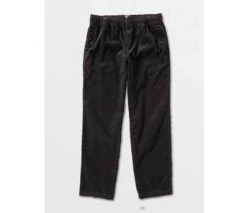 Psychstone Elastic Waist Pants - Black