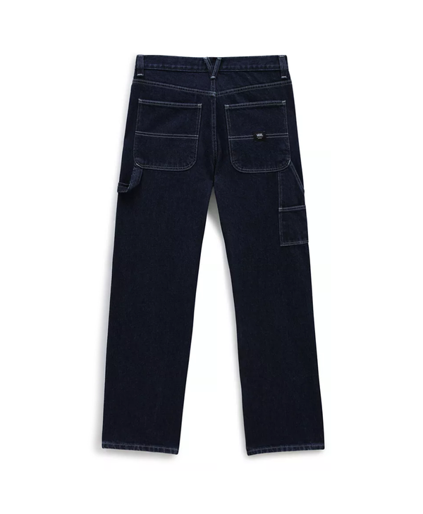 Drill Chore Relaxed Jeans - Midnight Rinse