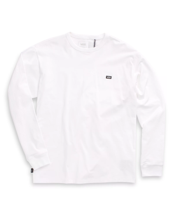 Off The Wall Classic Long Sleeve Shirt - White