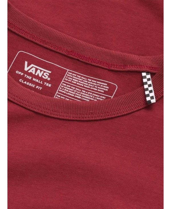 Off The Wall Classic Long Sleeve Shirt - Pomegranate