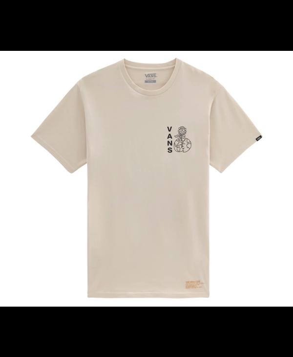 Vans World Code T-Shirt - Oatmeal