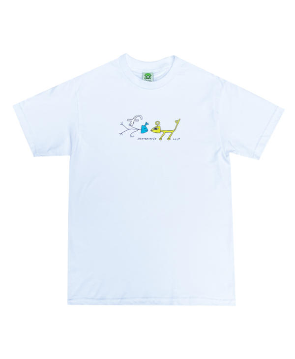Frog Exists! Tee - White