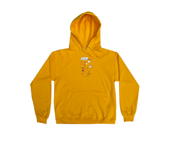 Not Interested Hoodie - Gold
