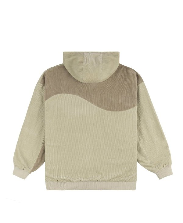 Corduroy Hooded Jacket - Tan