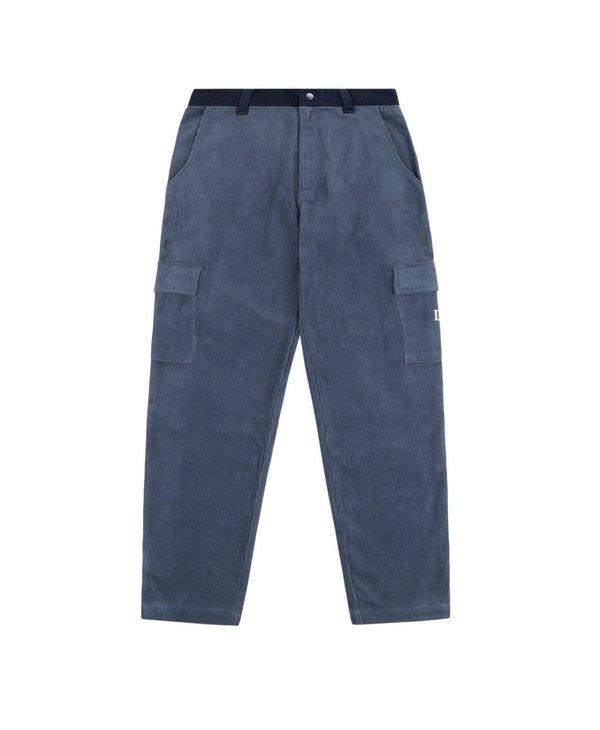 Corduroy Cargo Pants - Navy