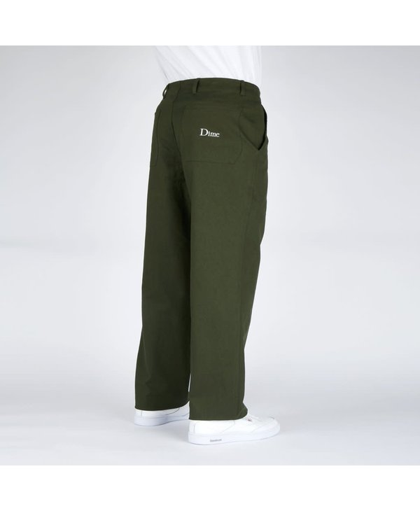 Classic Chino Pants - Dark Olive