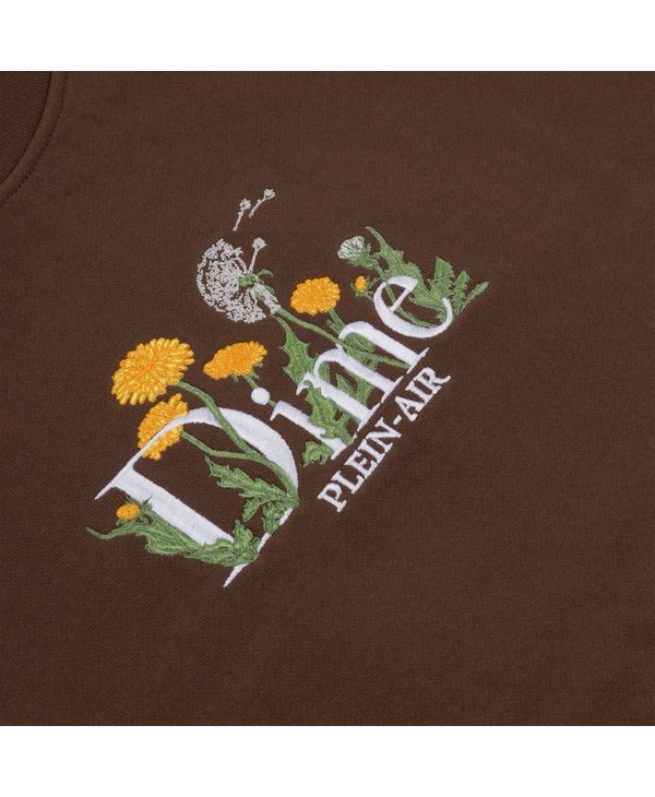 Classic Allergies Crewneck - Stray Brown
