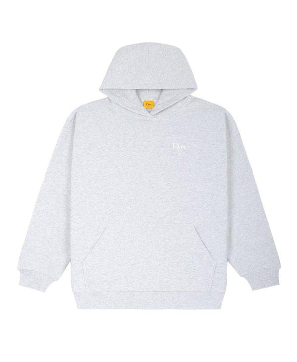 Classic Small Logo Hoodie - Ash