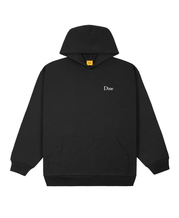 Classic Small Logo Hoodie - Black