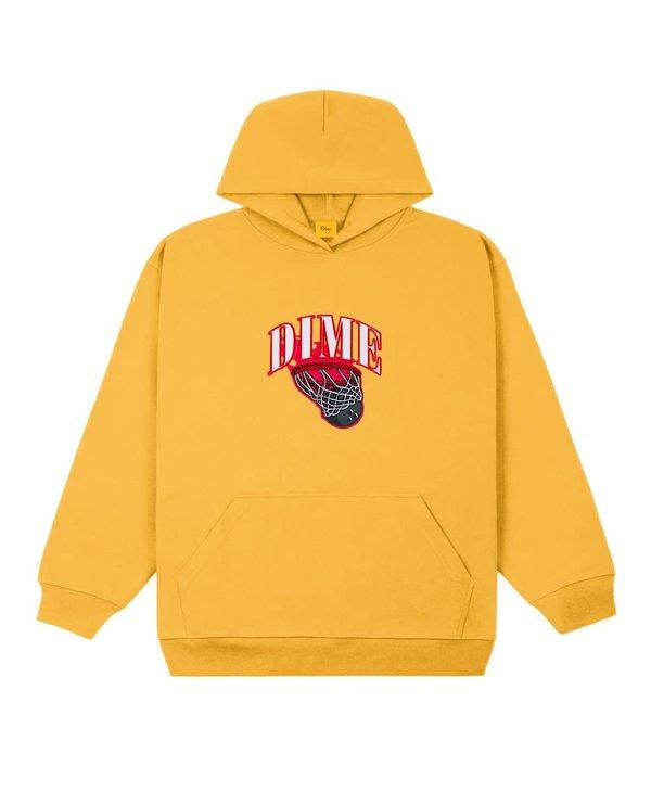 Basketbowl Patch Hoodie - Dark Yellow