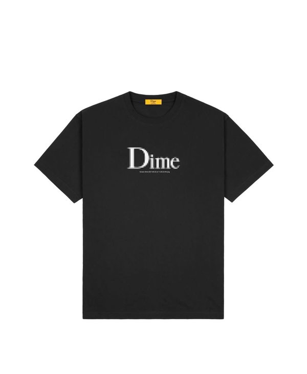 Dime Classic Screenshot T-Shirt - Black