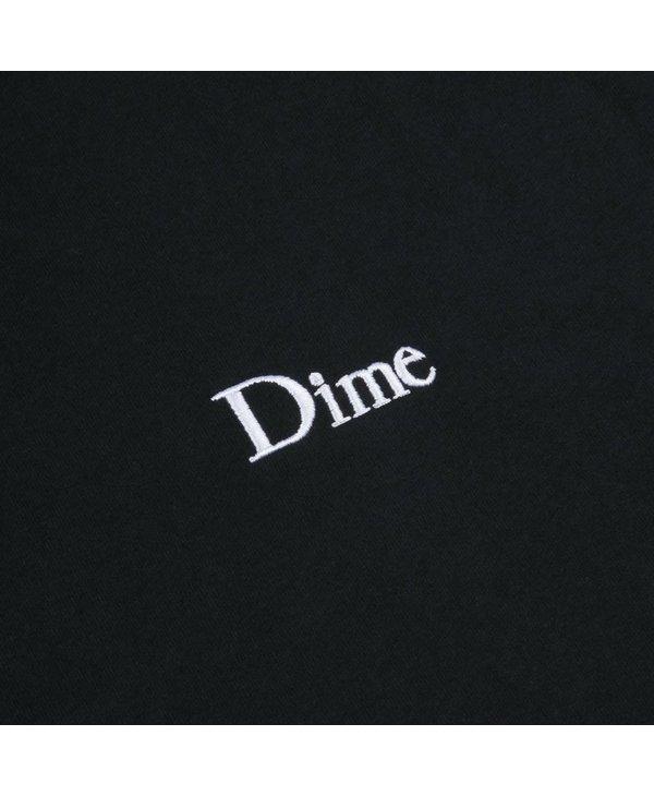Dime Classic Small Logo T-Shirt - Black