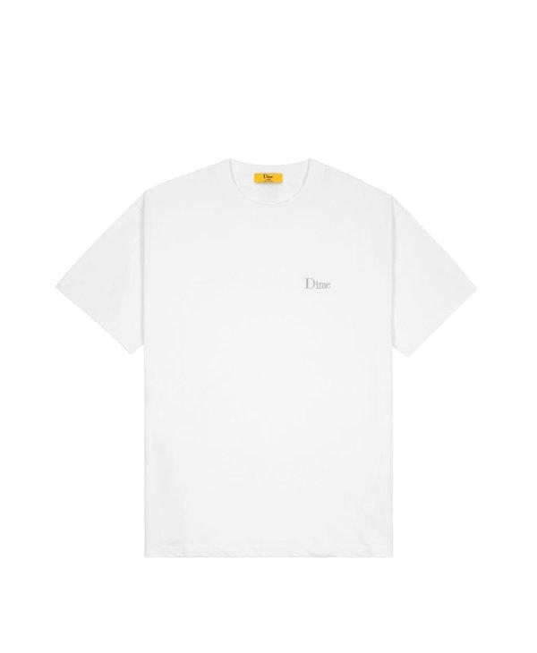 Dime Classic Small Logo T-Shirt - White