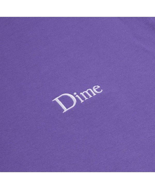 Dime Classic Small Logo T-Shirt - Iris