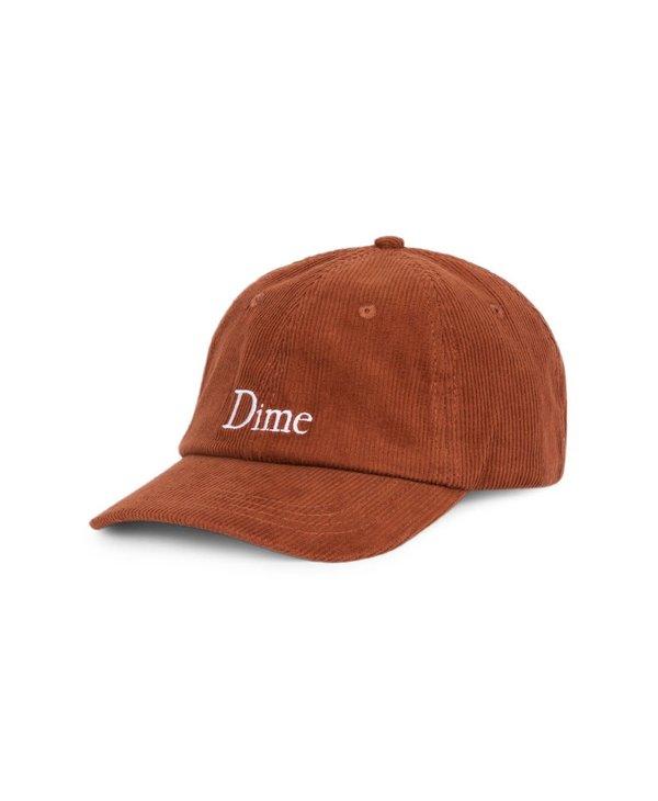 Dime Classic Corduroy Cap - Burnt Orange
