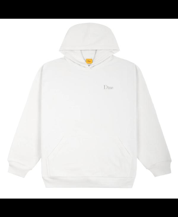 Classic Small Logo Hoodie - White
