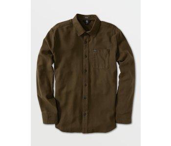 Caden Solid Long Sleeve Shirt - Wren