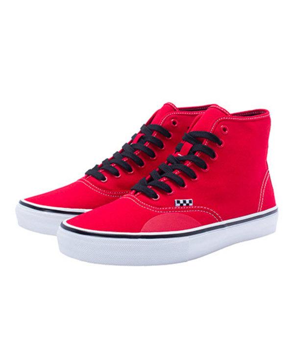 Vans x Hockey Skate Authentic Hi - Red