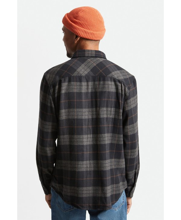 Bowery L/S Flannel - Black/Charcoal
