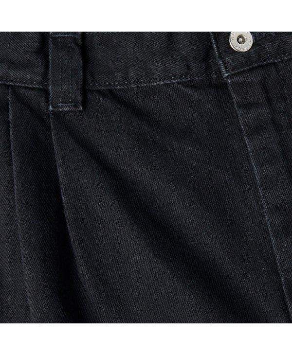 Grund Chino Denim - Pitch Black