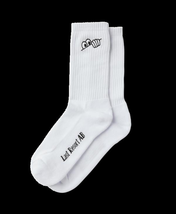 Eyes Socks - White