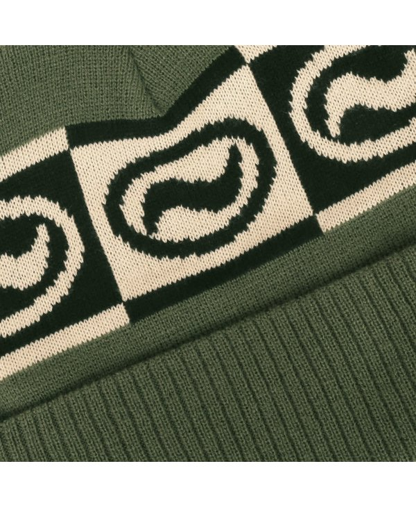 Ovaly Knit Beanie - Olive