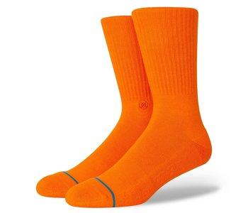 Icon Crew Socks - Orange
