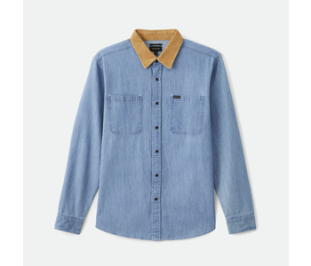 Bowery Reserve L/S Woven - Washed Denim