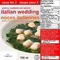 Ricos Ricos Italian Wedding Soup