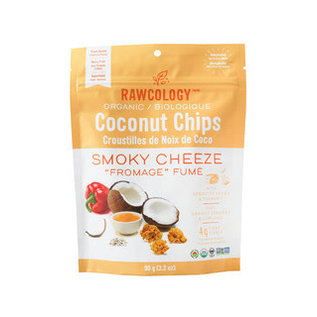 Rawcology Coconut Chips Smoky Cheeze Rawcology