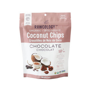 Rawcology Coconut Chips Chocolate Rawcology